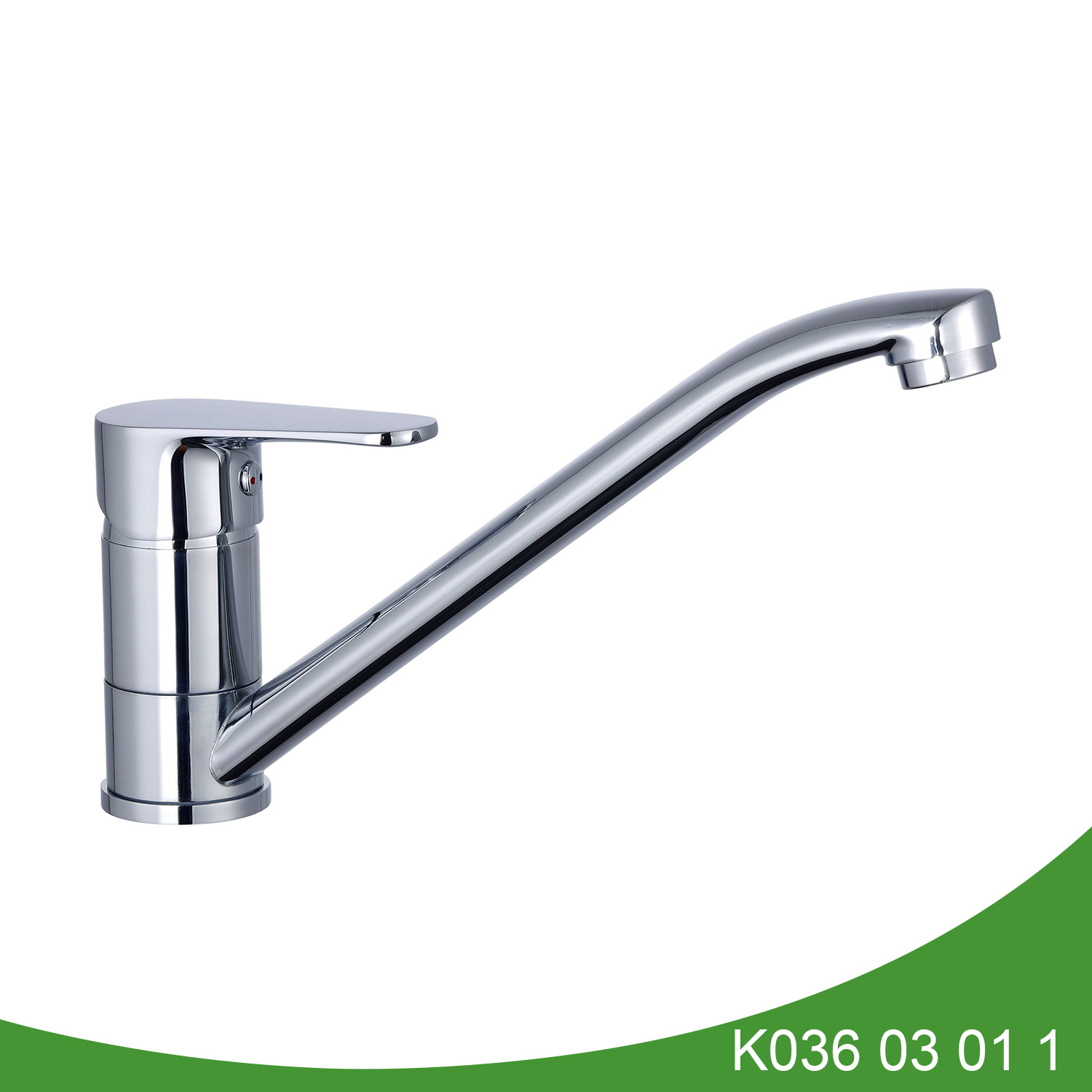 Short type single handle kitchen tap K036 03 01 1