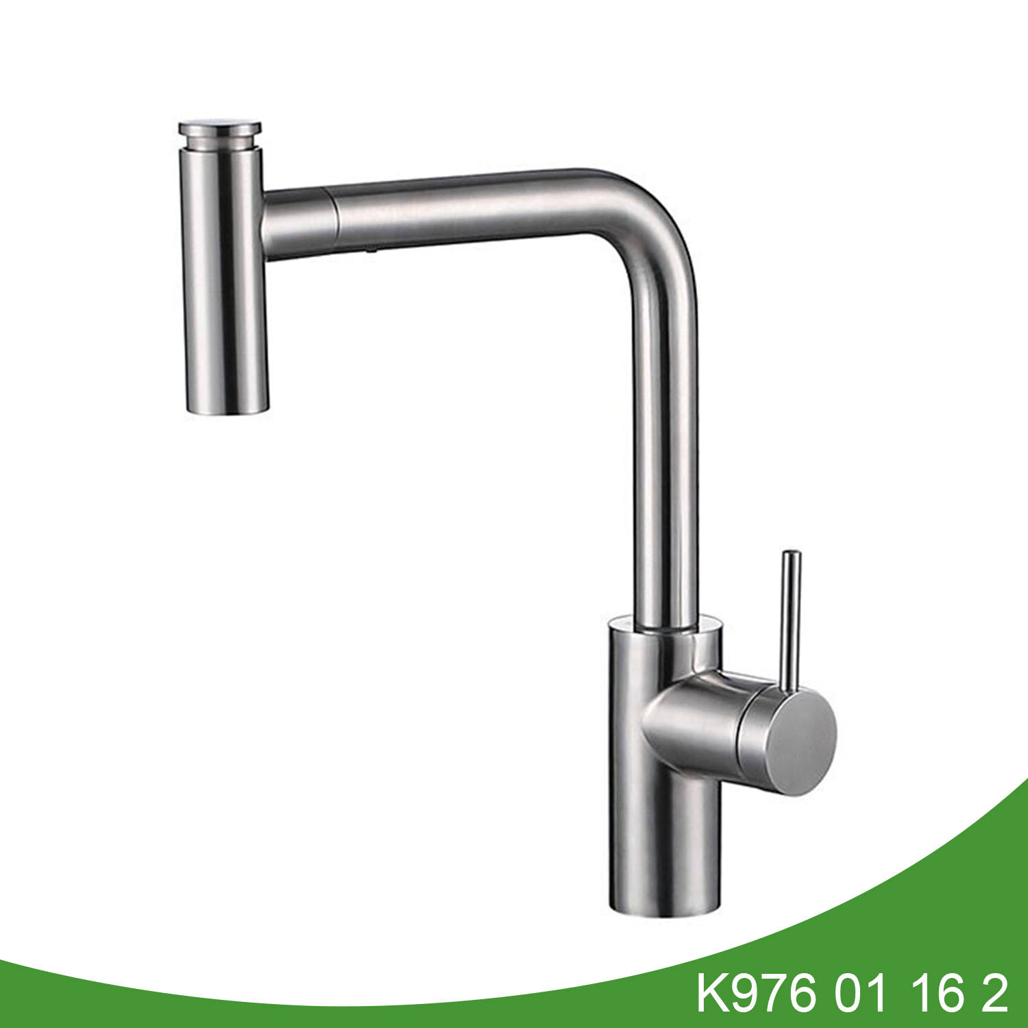 Stainless steel pull out kitchen tap K976 01 16 2