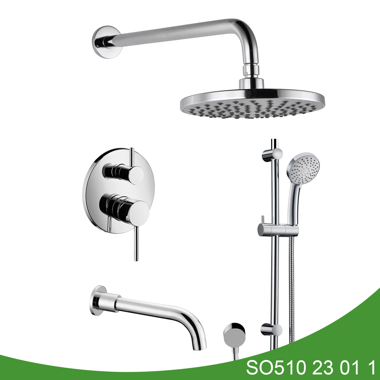 Hot and cold shower set SO510 23 01 1
