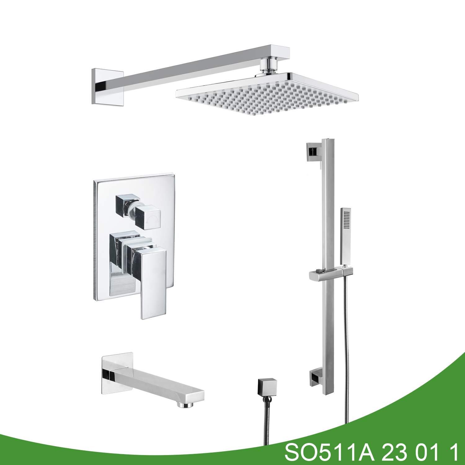 Hot and cold shower set SO511A 23 01 1