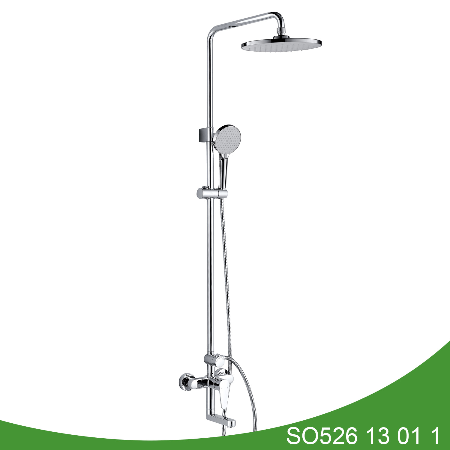 Exposed three function shower set SO526 13 01 1