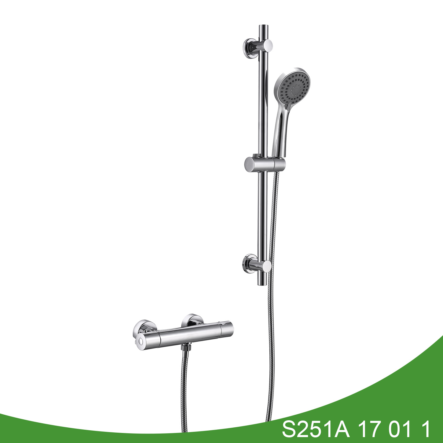 Thermostatic shower set S251A 17 01 1