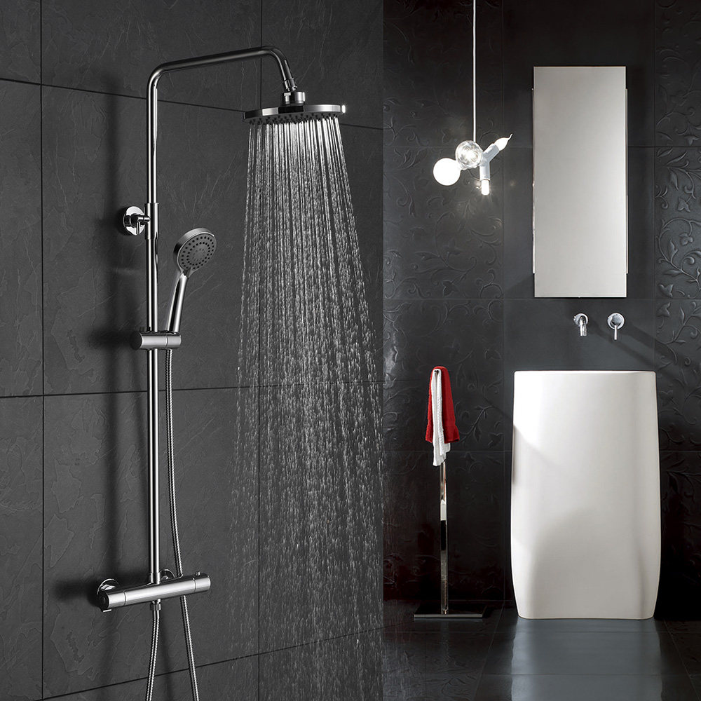 Exposed thermostatic shower set SC418A 12 01 1