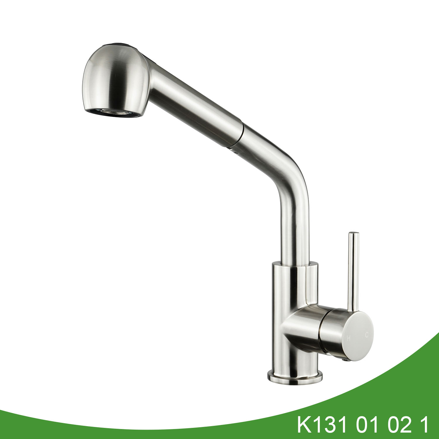 Brass pull out kitchen faucet - K131 01 02 1