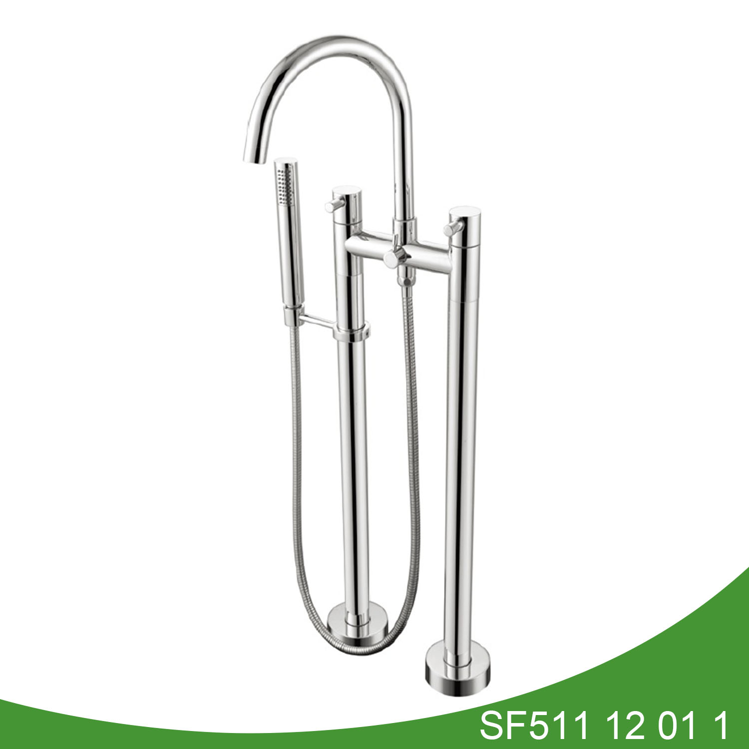 Two feet freestanding batub shower SF511 12 01 1