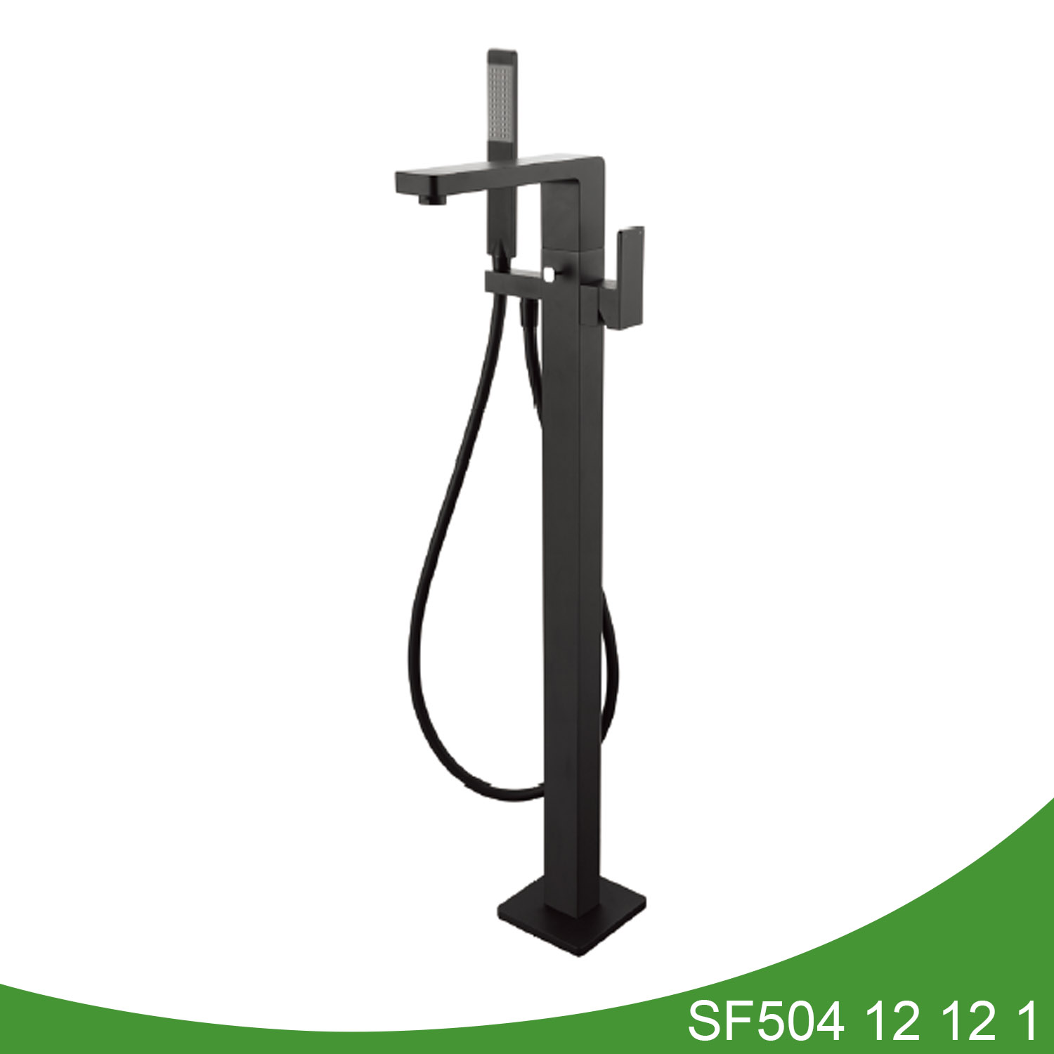 Freestanding bathtub faucet with hand shower SF504 12 01 1