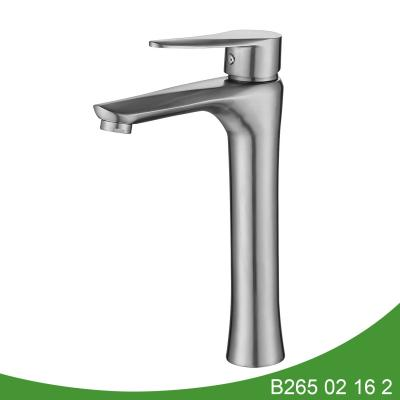 Stainless steel vessel basin faucet B265 01 16 2