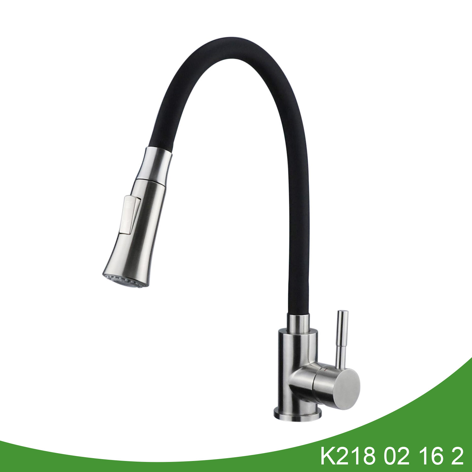 single hole pull down sink faucet K218 02 16 2