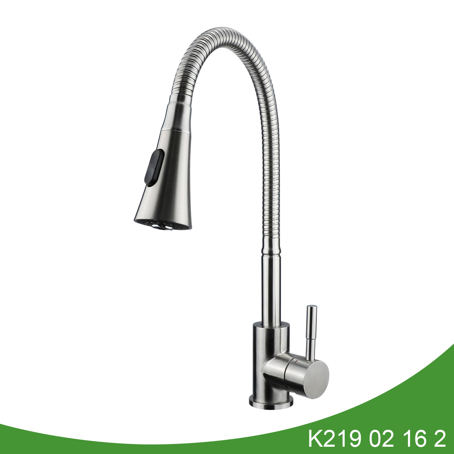 Single handle pull dwon kitchen faucet K219 02 16 2