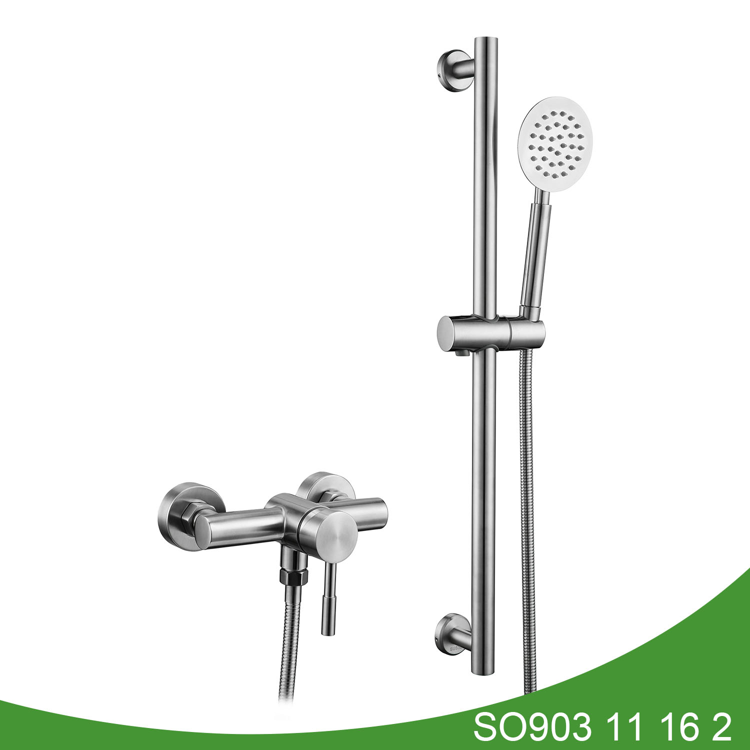 Stainless steel shower mixer SO903 11 16 2