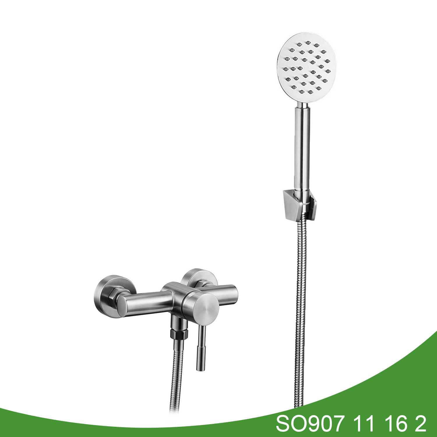 Stainless steel shower mixer SO907 11 16 2