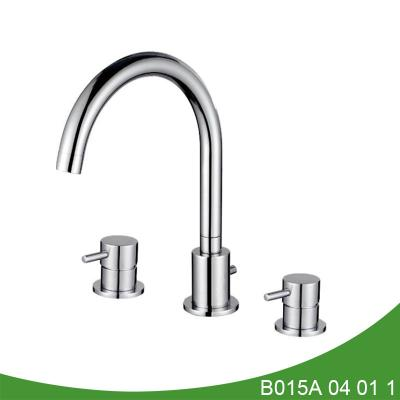 Upc widespread lavatory faucet
