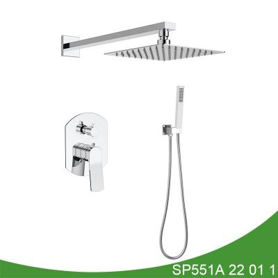 Concealed shower set SP551A 22 01 1