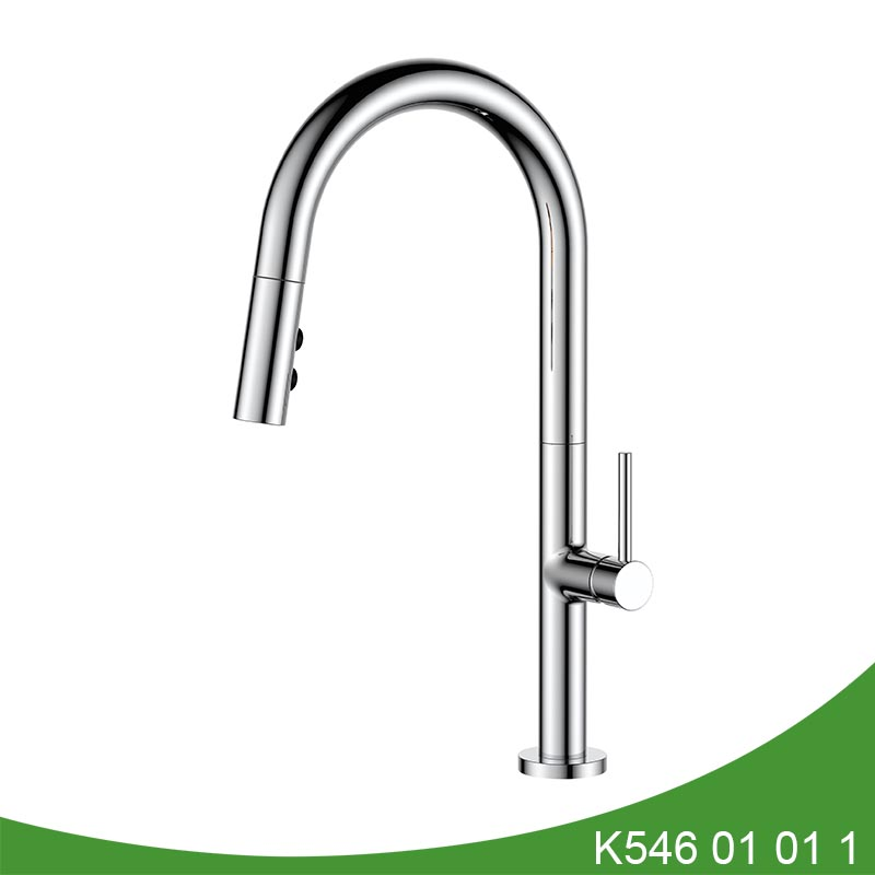 Pull out kitchen faucet K546 01 10 1