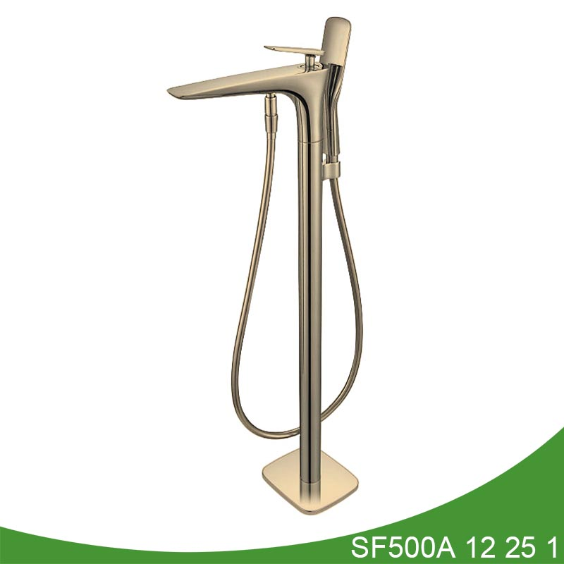 Freestanding bathtub faucet with hand shower SF500A 12 01 1