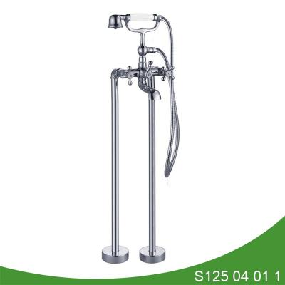 Bathtub faucet with shower attachment