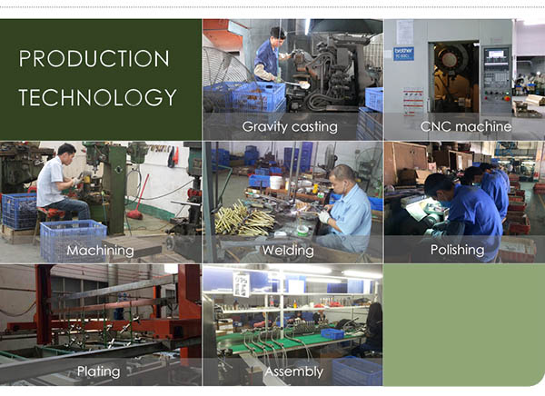 faucet production process